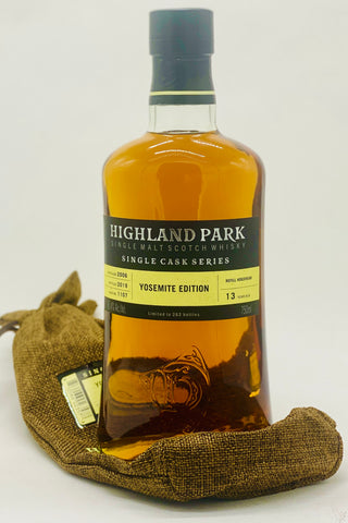 "Highland Park ""Single Cask Series"" Yosemite Edition Scotch Whisky"