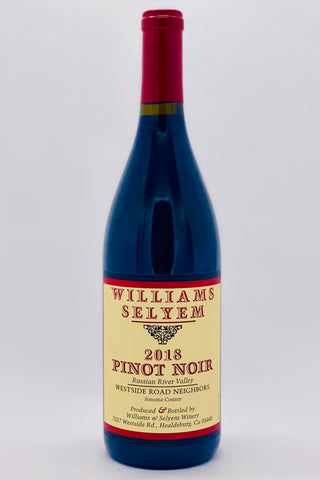 Williams Selyem 2018 Pinot Noir Westside Road Neighbors