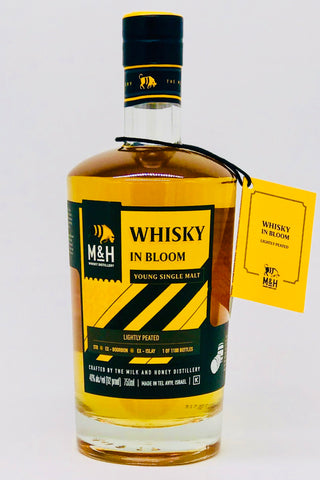 "Milk and Honey Distillery ""Whisky in Bloom"" Young Single Malt Lightly Peated"
