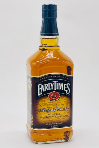 Early Times Straight Kentucky Bourbon Whiskey 1000 ml