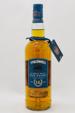 The Tyrconnell 16-year-old Oloroso & Moscatel Cask Finish Single Malt Irish Whiskey