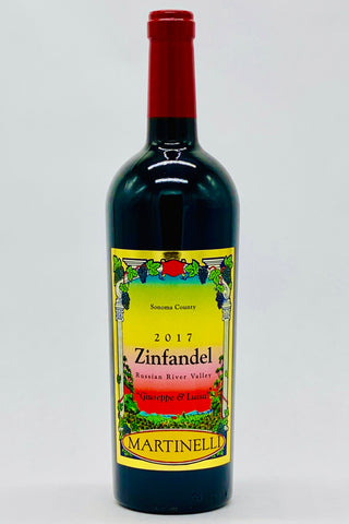 Martinelli 2017 Zinfandel Giuseppe and Luisa