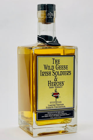 The Wild Geese Irish Soldiers and Heroes Irish Whiskey Limited Edition Fourth Centennial