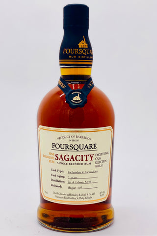 Foursquare Rum Distillery Sagacity Single Blended Rum