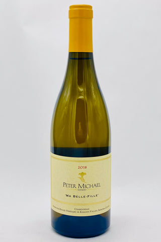 Peter Michael 2018 Chardonnay Ma Belle-Fille