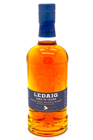 Ledaig Vintage 10 Year Old Scotch Whisky