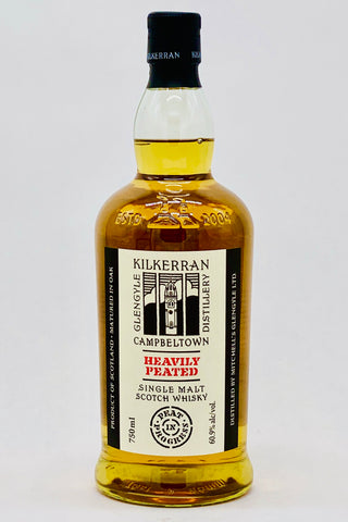 "Kilkerran Heavily Peated ""Batch No. 2"" Single Malt Scotch Whisky"