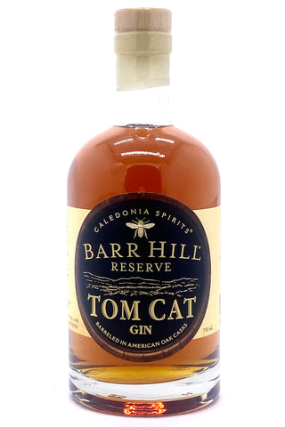 Barr Hill Reserve Tom Cat Barrel-Aged Gin 750 ml