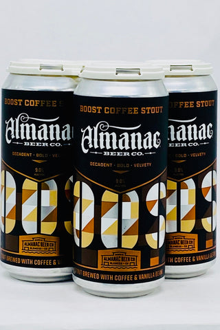 Almanac Boost Coffee Stout Four Pack Cans