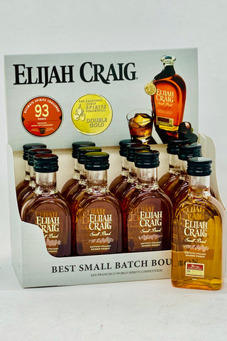 Elijah Craig Small Batch Bourbon 12 x 50 ml