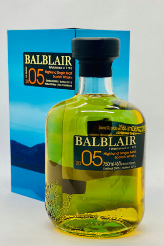 Balblair Vintage 2005 Highland Single Malt Scotch Whisky