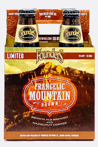Founders Frangelic Mountain Brown Ale 12 oz Four Pack