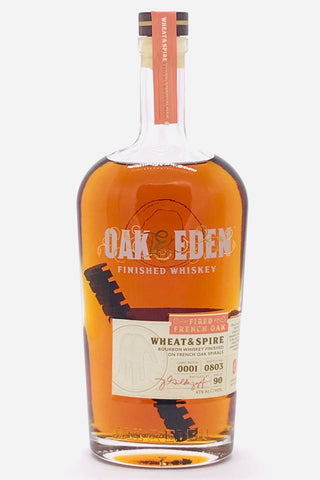"Oak & Eden ""Fired French Oak"" Wheat & Spire Whiskey"