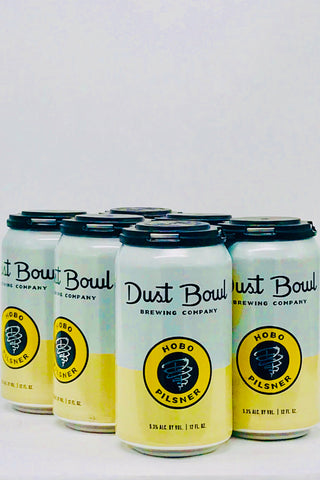Dust Bowl Hobo Pilsner Six Pack Cans