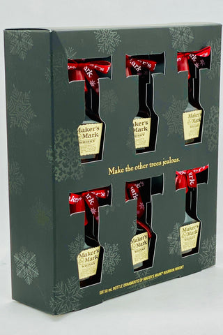 Maker's Mark Whiskey Holiday Pack 6 x 50 ml