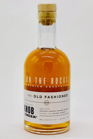 "On the Rocks RTD ""Old Fashioned"" with Knob Creek Bourbon 375 ml"