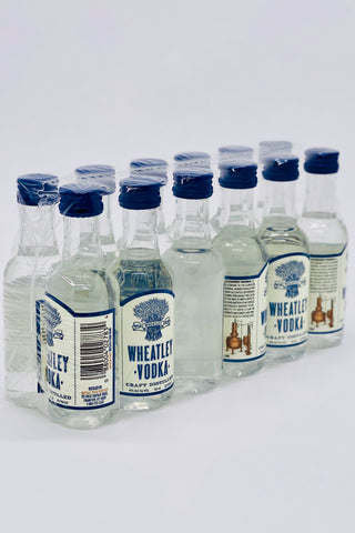 Wheatley Straight Vodka 12 x 50 ml