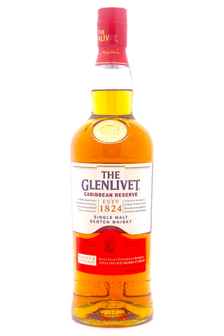 Glenlivet Caribbean Cask Reserve Single Malt Scotch Whisky