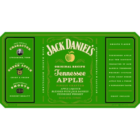 Jack Daniel's Tennessee Apple Liqueur 750 ml