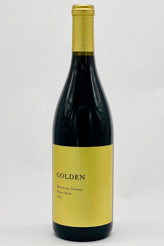 Golden 2018 Pinot Noir Monterey County
