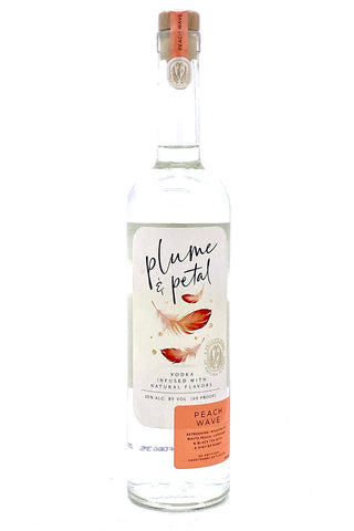 "Plume & Petal ""Peach Wave"" Vodka"