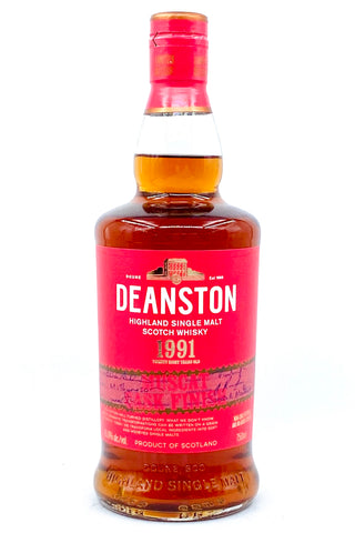 "Deanston 28 Year Old ""Muscat Finish"" Vintage 1991 Single Malt Scotch Whisky"