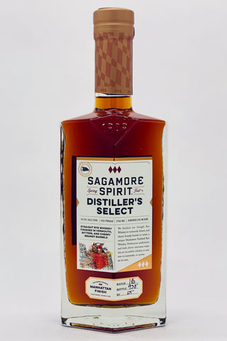 "Sagamore Spirit ""Manhattan Finish"" Rye Whiskey"