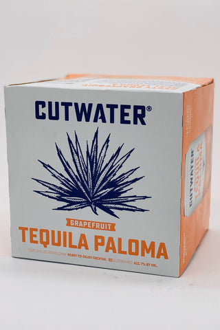 "Cutwater RTD ""Grapefruit"" Tequila Paloma Cocktail 4 x 355ml Cans"