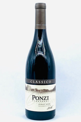 "Ponzi 2016 Pinot Noir ""Classico"" Willamette Valley"