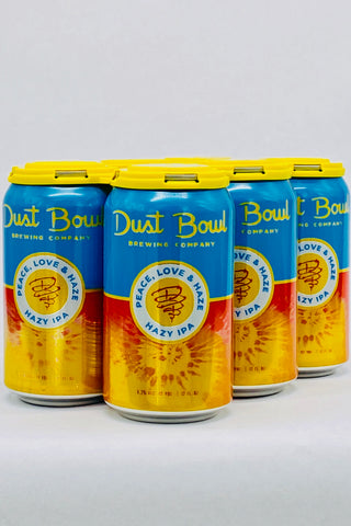 Dust Bowl Peace Love & Haze IPA Six Pack 12 oz Cans