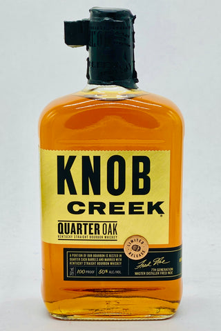 Knob Creek Quarter Oak Bourbon Whiskey