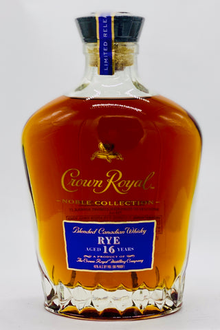 "Crown Royal 16 Year Old Rye Whisky ""Noble Collection"""