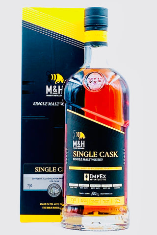 "Milk and Honey Distillery ""Single Cask"" Single Malt Whisky"