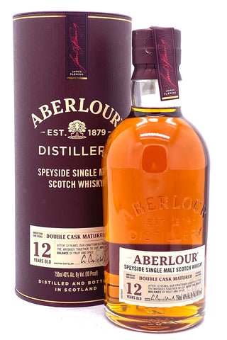 Aberlour 12 Year Double Cask Matured Speyside Single Malt Scotch Whisky