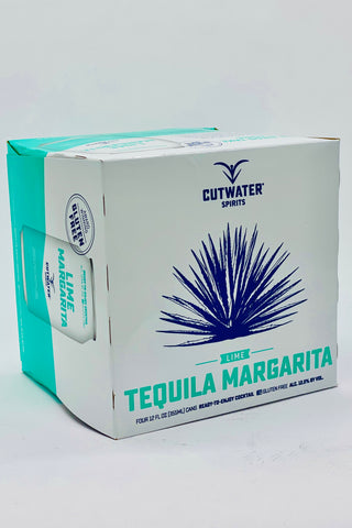"Cutwater RTD ""Lime"" Tequila Margarita Cocktail 4 x 355ml Cans"