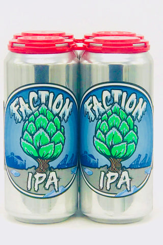 Faction Winter IPA 16 oz Cans 4 Pack