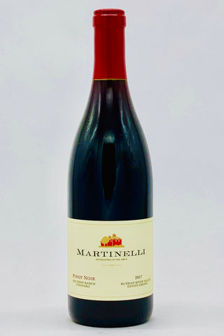 Martinelli 2017 Pinot Noir Zio Tony Ranch