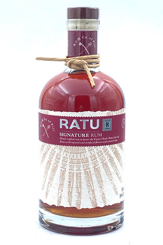 "Rum Co of Fiji 8 Year Old ""Ratu"" Signature Fijian Rum"