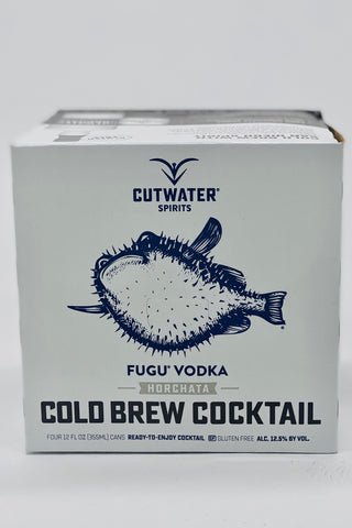 "Cutwater RTD ""Horchata Cold Brew"" Cocktail 4 x 355ml Cans"