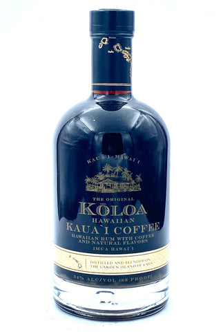 Koloa Kauai Coffee Flavored Hawaiian Rum