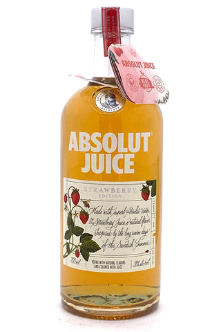 "Absolut Juice ""Strawberry"" Edition Flavored Vodka 750 ml"