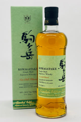Mars Whisky Komagatake Single Malt Japanese Whisky