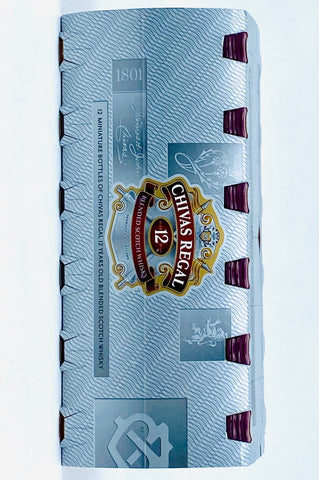 Chivas Regal 12 Year Old Scotch Whisky 12 x 50 ml