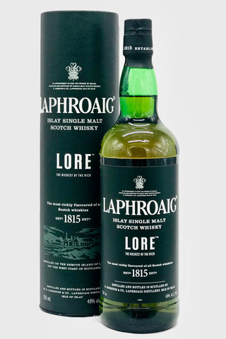 "Laphroaig ""Lore"" Islay Scotch Whisky"