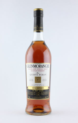 Glenmorangie 12 Year Scotch Whisky Quinta Ruban in Port Cask