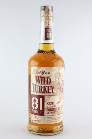 Wild Turkey Bourbon 81 Proof Boot Campaign