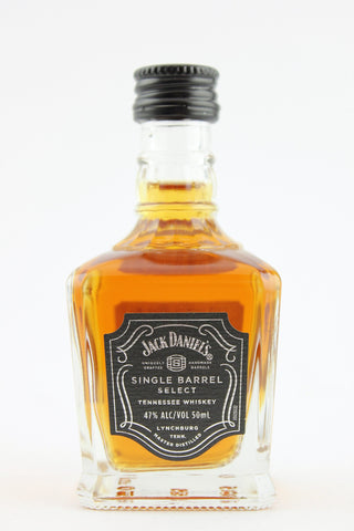 Jack Daniel's Single Barrel Select Tennessee Whiskey 12 x 50 ml