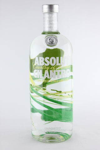Absolut Cilantro Vodka Litre