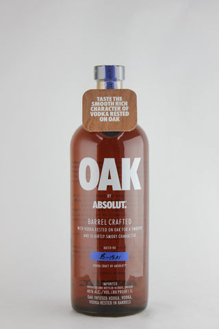 Absolut Oak Barrel-aged Vodka Litre
