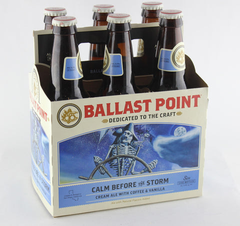 Ballast Point Calm Before the Storm Cream Ale Six Pack